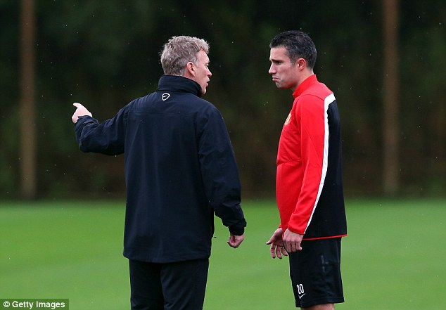 The striker didn't see eye-to-eye with Moyes, criticising his training methods during an ill-fated season