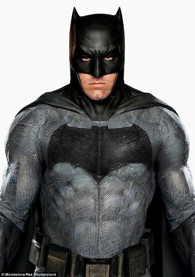 New suit: Fans had been wondering about Batman's new suit in the forthcoming film to which director Zack Noyle responded: 'It's not really enhancing his strength more than it is protecting him from Superman'