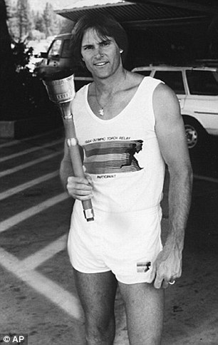 Previously, Miss Jenner had been Bruce, the 1976 Olympic men's decathlon champion (pictured) and a reality TV star