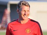 SEATTLE, WA - JULY 13:  (EXCLUSIVE COVERAGE) Bastian Schweinsteiger of Manchester United in action during a first team training session as part of their pre-season tour of the USA at VMAC on July 13, 2015 in Seattle, Washington.  (Photo by John Peters/Man Utd via Getty Images)