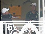 LONDON, ENGLAND - JULY 14:  Brad Haddin of Australia speaks with Australian coach Darren Lehmann during a nets session ahead of the 2nd Investec Ashes Test match between England and Australia at Lord's Cricket Ground on July 14, 2015 in London, United Kingdom.  (Photo by Ryan Pierse/Getty Images)