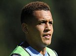 Picture Shows: Ravel Morrison  July 10, 2015    Soccer stars from the Italian football club SS Lazio train with their coach Stefano Pioli in Auronzo di Cadore, Italy.    Non Exclusive  UK RIGHTS ONLY    Pictures by : FameFlynet UK © 2015  Tel : +44 (0)20 3551 5049  Email : info@fameflynet.uk.com