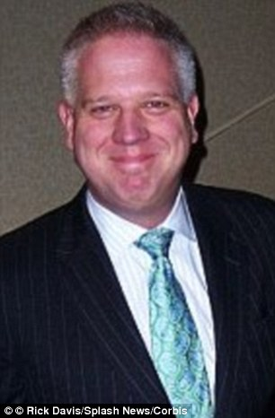 Controversial radio host Glenn Beck (pictured in February this year) launched an attack on Caitlyn Jenner at FreedomFest in Las Vegas, saying: 'Don't tell me to start calling him a woman'