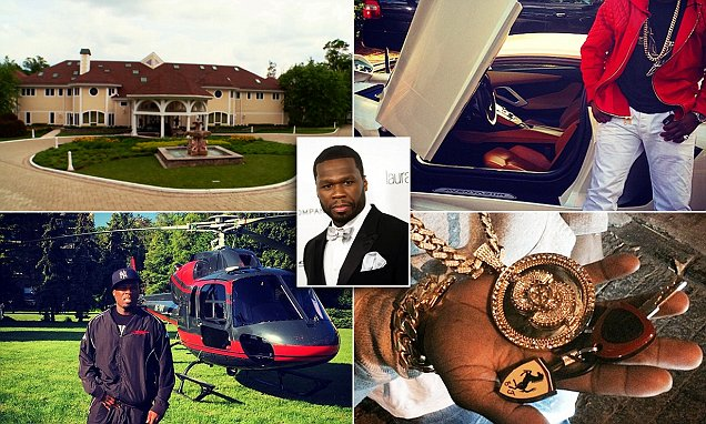 50 Cent declares bankruptcy days after losing $5M sex tape judgement