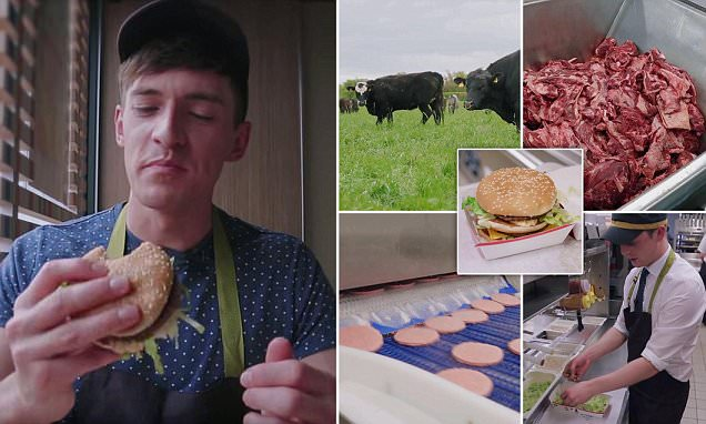 Blogger Doug Armstrong reveals how McDonald's Big Macs are REALLY made