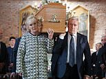 ITV1 undated handout photo of a scene from ITV1 soap of the funeral of Deidre Barlow which was shown this evening.  PRESS ASSOCIATION Photo. Issue date: Monday July 13, 2015. Actress Anne Kirkbride, who played Deirdre for 42 years, died in January aged 60 and Deirdre herself was killed off by a sudden aneurysm last week. See PA story SHOWBIZ Coronation. Photo credit should read: Joseph Scanlon/ITV/PA Wire NOTE TO EDITORS: This handout photo may only be used in for editorial reporting purposes for the contemporaneous illustration of events, things or the people in the image or facts mentioned in the caption. Reuse of the picture may require further permission from the copyright holder.
