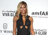 Mandatory Credit: Photo by BEI/REX Shutterstock (4849189fd)  Laverne Cox  amfAR Inspiration Gala, New York, America - 16 Jun 2015