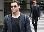 EXCLUSIVE: Hugh Jackman is seen walking through Melbourne airport as he arrived back in Australia after his appearance at Comic-Con in San Fransisco \n\nPictured: Hugh Jackman\nRef: SPL1076184  140715   EXCLUSIVE\nPicture by: Splash News\n\nSplash News and Pictures\nLos Angeles:310-821-2666\nNew York:212-619-2666\nLondon:870-934-2666\nphotodesk@splashnews.com\n
