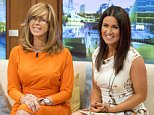 EDITORIAL USE ONLY. NO MERCHANDISING  Mandatory Credit: Photo by Ken McKay/ITV/REX Shutterstock (4902824a)  Kate Garraway and Susanna Reid  'Good Morning Britain' TV Programme, London, Britain. - 14 Jul 2015