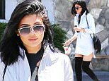 Kylie Jenner wearing knee high boot as she films Keeping up with the Kardashians.\n\nPictured: Kylie Jenner\nRef: SPL1078226  130715  \nPicture by: Clint Brewer / Splash News\n\nSplash News and Pictures\nLos Angeles: 310-821-2666\nNew York: 212-619-2666\nLondon: 870-934-2666\nphotodesk@splashnews.com\n