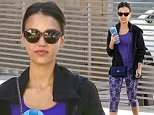 Picture Shows: Jessica Alba  July 13, 2015\n \n 'Sin City' star Jessica Alba hits the gym for a morning workout in West Hollywood, California. Jessica's oldest daughter Honor acted in her first play this past weekend, and proud Jessica and Cash were there to support her. \n \n Non Exclusive\n UK RIGHTS ONLY\n \n Pictures by : FameFlynet UK © 2015\n Tel : +44 (0)20 3551 5049\n Email : info@fameflynet.uk.com