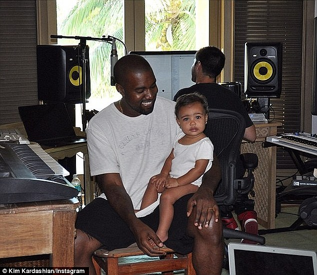 'All I do is go to the studio every day': And while Kardashian has been filming the 11th season of KUWTK - airing this fall on E! - Yeezy has been recording his seventh studio album reportedly called SWISH