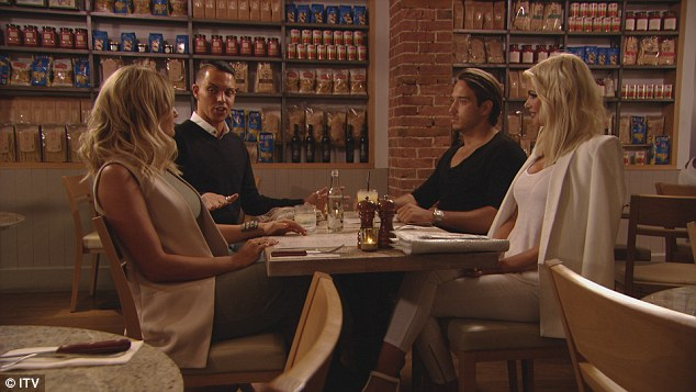 Building bridges: Meanwhile, Bobby brings Danni and Lockie together in an effort to repair their relationship