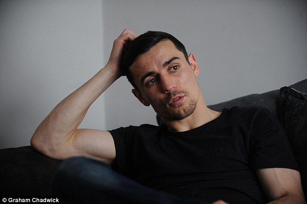 Crolla admits that he will not encourage his young son Jesse to follow his choice of career path