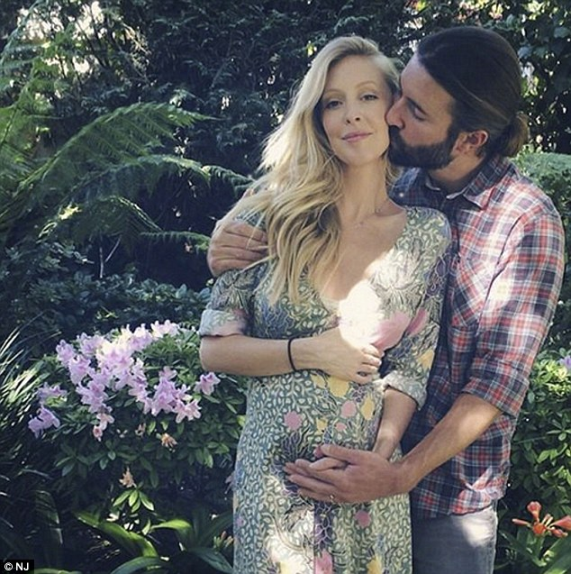 Cute couple: Leah and Brandon married in May 2012 and are expecting their first child together