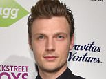 "HOLLYWOOD, CA - JANUARY 29:  Singer Nick Carter attends the premiere of Gravitas Ventures' ""Backstreet Boys: Show 'Em What You're Made Of""   at  on January 29, 2015 in Hollywood, California.  (Photo by Alberto E. Rodriguez/Getty Images)"
