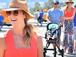 EXCLUSIVE: Stacy Keibler and her husband Jared Pobre take their daughter Ava Grace out for a day at the Farmer's market in Malibu. Stacy and her husband were all smiles as they soaked in the summer sun\n\nPictured: Stacy Kiebler, Ava Grace Pobre, Jared Pobre\nRef: SPL1077834  120715   EXCLUSIVE\nPicture by: Fern / Splash News\n\nSplash News and Pictures\nLos Angeles: 310-821-2666\nNew York: 212-619-2666\nLondon: 870-934-2666\nphotodesk@splashnews.com\n