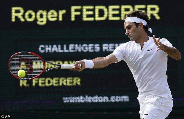Federer, 33, is three years older than Arthur Ashe was when he won Wimbledon in 1975 and the oldest man in a final since Ken Rosewall, who was 39 when he lost to Jimmy Connors in 1974