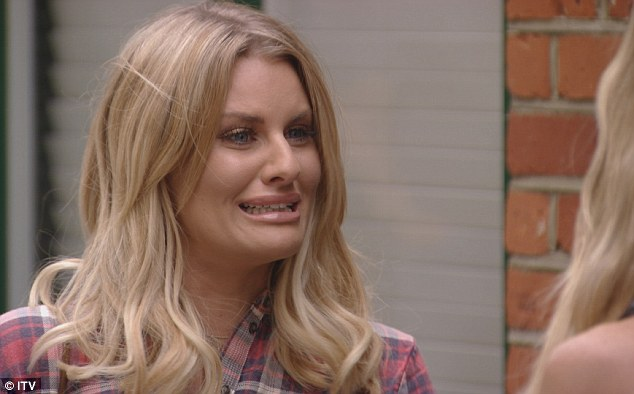 Confrontation: The blonde later confronts Lauren after they bumped into each other on the street