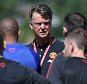 SEATTLE, WA - JULY 14:  (EXCLUSIVE COVERAGE) Manager Louis van Gaal of Manchester United in action during a first team training session as part of their pre-season tour of the USA at VMAC on July 14, 2015 in Seattle, Washington.  (Photo by John Peters/Man Utd via Getty Images)