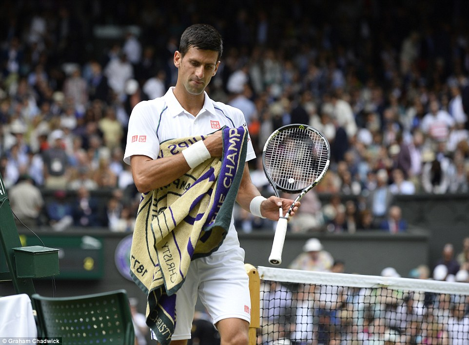 World No 1 Djokovic soon regained his composure to break back immediately as the quality in the first set continued to rise