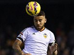 VALENCIA, SPAIN - JANUARY 25:  Nicolas Otamendi of Valencia in action during the La Liga match between Valencia CF and Sevilla FC at Estadi de Mestalla on January 25, 2015 in Valencia, Spain.  (Photo by Manuel Queimadelos Alonso/Getty Images)