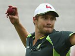 LONDON, ENGLAND - JULY 14:  Shane Watson of Australia trains during a nets session ahead of the 2nd Investec Ashes Test match between England and Australia at Lord's Cricket Ground on July 14, 2015 in London, United Kingdom.  (Photo by Ryan Pierse/Getty Images)