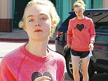 July 14, 2015: Elle Fanning heads to a dance class in Hollywood, California today.\nMandatory Credit: Lek/INFphoto.com Ref: infusla-298
