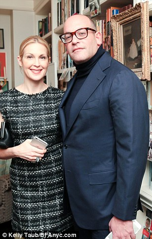 Meister at a party in New York several months ago with Kelly Rutherford