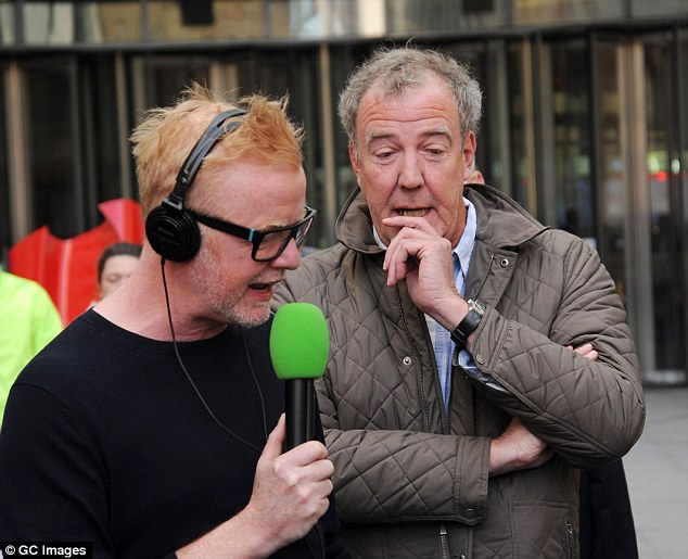 Chris Evans is now the presenter of  Top Gear after Clarkson was sacked over a 'fracas' with a producer
