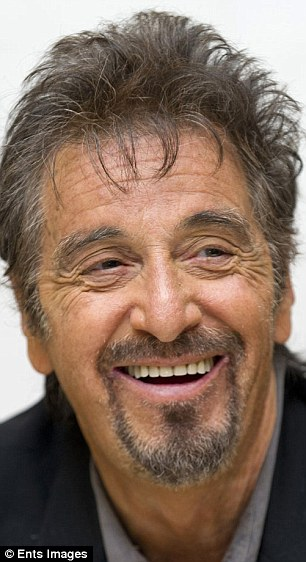 ... And he's looking a lot like 75-year-old Godfather legend Al Pacino