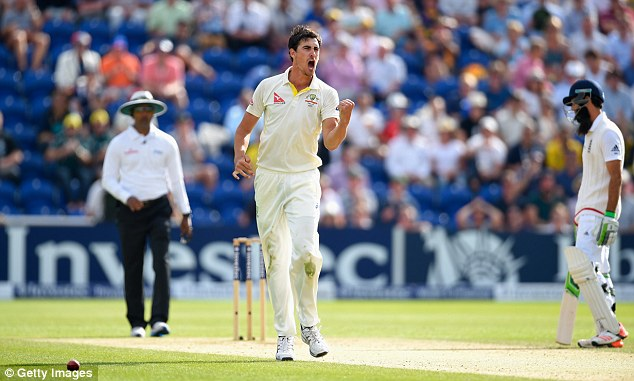 Mitchell Starc was forced to have painkilling injections to get through the Ashes series opener in Cardiff