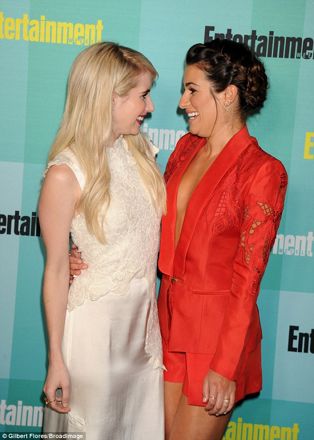 More like Giggle Queens! The girls have been practically inseparable as they drum up interest for Screen Queens