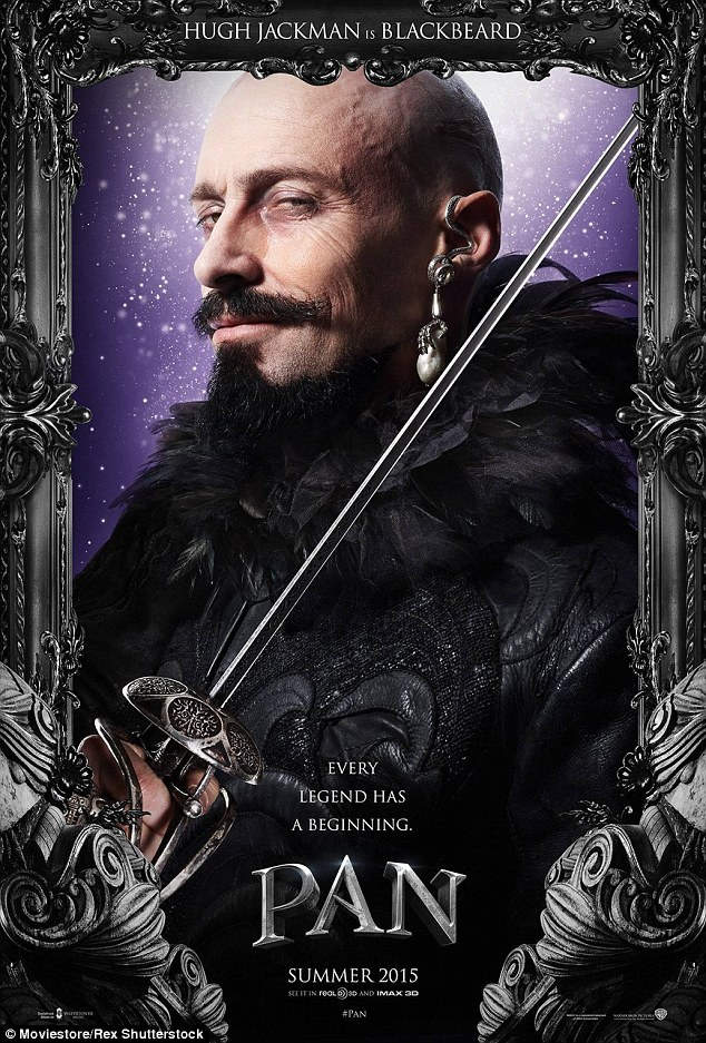Next up: The multi-talented actor will next be seen playing supervillain pirate Blackbeard in Pan