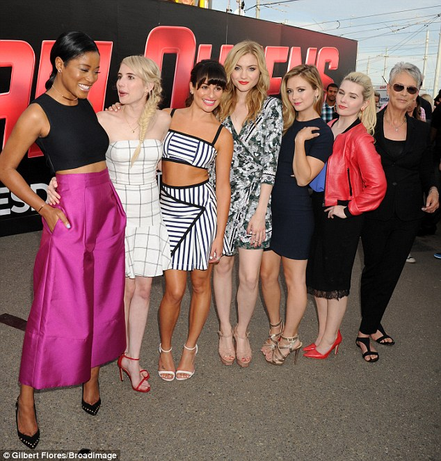 Not long to go! Fans are eagerly awaiting the girl's star-studded new TV show Scream Queens
