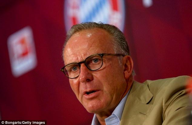 Bayern chief executive Karl-Heinz Rummenigge has been criticised for letting Schweinsteiger go
