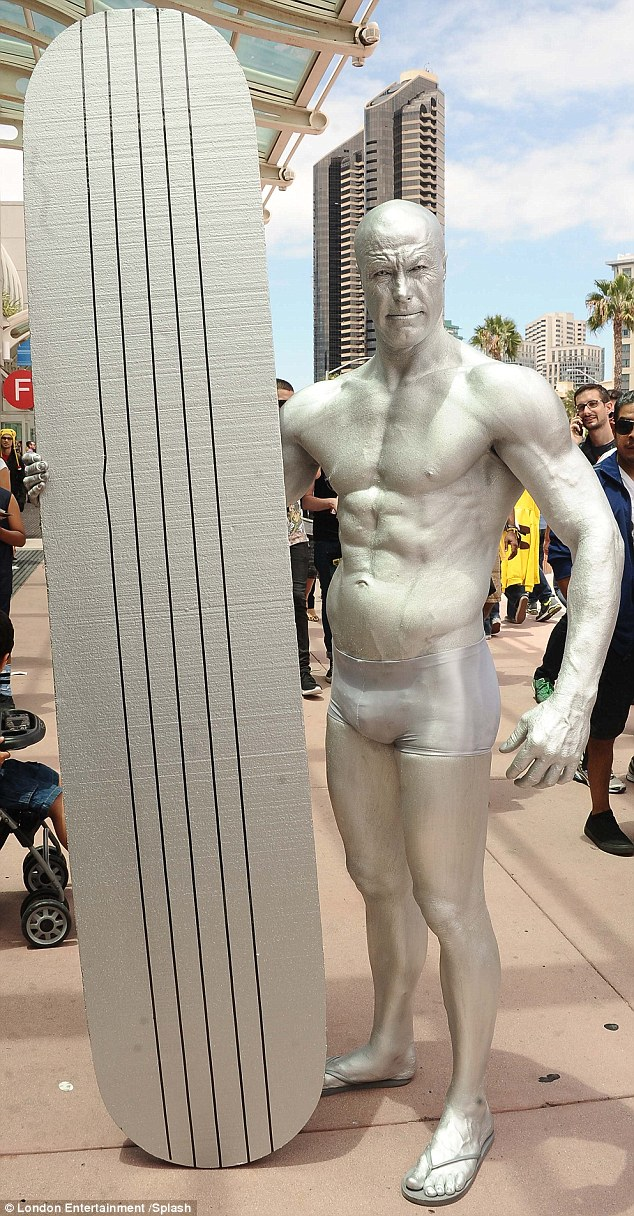 Silver surfer: The extraordinary fan costumes are always one of the best parts of the event