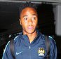 15.7.15...... Manchester City's new £49,000,000 signing Raheem Sterling arrives at Manchester Airport on Wednesday morning at 7.20am to catch a flight to Abu Dhabi and then on to Australia to meet up with his new team mates. Raheem was met at the front door by airport officials and fast tracked straight through security and pass port control refusing to stop for fans who wanted selfies.