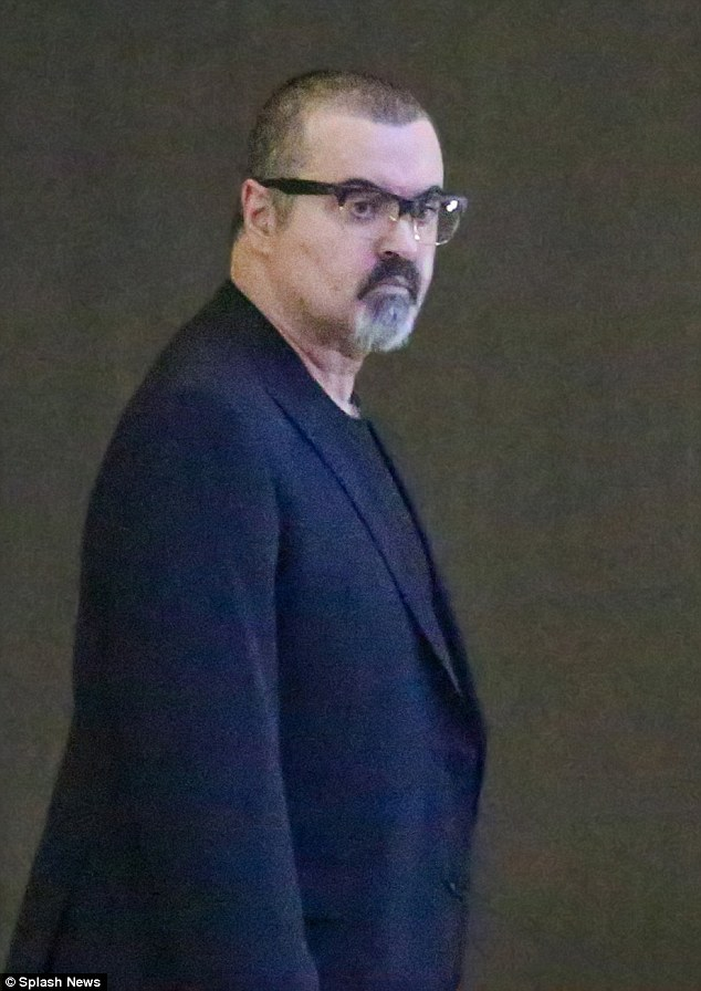 Troubled: George Michael (pictured above in June) was allegedly addicted to crack cocaine and a cocktail of other drugs before he checked into the £190,000 a month Kusnacht Practice in Switzerland last year