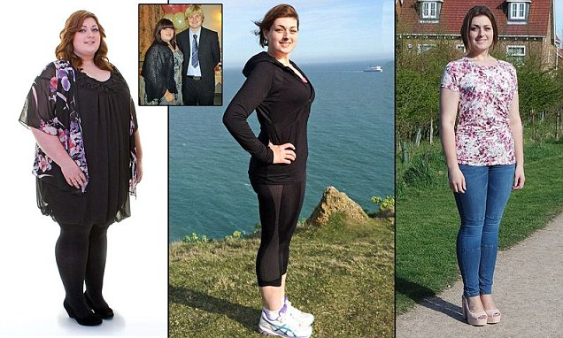 Obese woman fat shamed into losing 13 stone after bullies threw kebabs at her