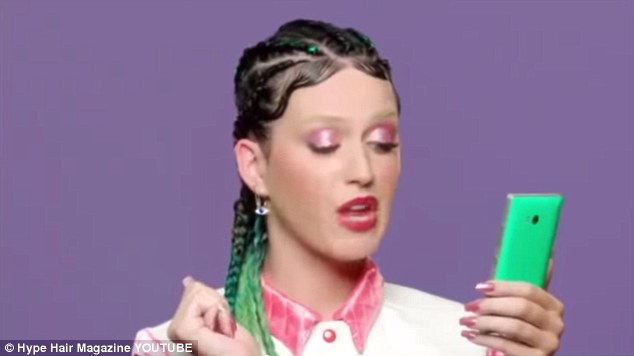 Previously: Katy Perry had her hair braided in cornrows for a scene in the 2014 music video, This Is How We Do