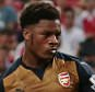 Football - Singapore Select XI v Arsenal - Barclays Asia Trophy - National Stadium, Singapore - 15/7/15  Arsenal's Chuba Akpom scores their third goal with a penalty  Action Images via Reuters / Jeremy Lee  Livepic