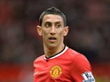 Manchester United's Angel Di Maria reacts during the English Premier League soccer match between Manchester United and Sunderland at the Old Trafford in Manchester, England on 28 February 2015.      epa04641709 EPA/PETER POWELL DataCo terms and conditions apply  http://www.epa.eu/files/Terms%20and%20Conditions/DataCo_Terms_and_Conditions.pdf