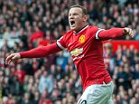 Premier League football - MANCHESTER UNITED V ASTON VILLA (3-1) - Manchester, UK - Pic shows:- Man Utd's Wayne Rooney appeals a penalty PIcture by Ian Hodgson/Daily Mail