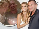 LOS ANGELES, CA - JUNE 10:  (L-R) AnnaLynne McCord and Dominic Purcell attend the screening of AnnaLynne McCord's 'I Choose' at Harmony Gold Theatre on June 10, 2014 in Los Angeles, California.  (Photo by Tibrina Hobson/Getty Images)