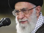 """In this picture released by the official website of the office of the Iranian supreme leader on Saturday, July 11, 2015, Supreme Leader Ayatollah Ali Khamenei attends a meeting with university students in Tehran, Iran. Iran's state-run Press TV cited Khamenei as calling the U.S. an """"excellent example of arrogance."""" It said Khamenei told university students in Tehran to be """"prepared to continue the struggle against arrogant powers."""" (Office of the Iranian Supreme Leader via AP)"""