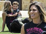 EXCLUSIVE FAO DAILY MAIL ONLINE ONLY - GBP 40 PER PICTURE\n Mandatory Credit: Photo by Startraks Photo/REX Shutterstock (4901393u)\n Jillian Michaels with son Phoenix\n Jillian Michaels and son Phoenix out and about, Malibu, America - 13 Jul 2015\n Jillian Michaels and son Phoenix playing in the park\n