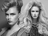 Cara delevingne in never before seen images were taken in 2010 for a Lebanese as far a i know they are un - published in the UK
