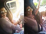 Kylie Jenner SnapChat Kendall 'driving' dangerously
