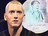 EDITORIAL USE ONLY / NO MERCHANDISING.. Mandatory Credit: Photo by Hotsauce/REX Shutterstock (3377233ce).. Eminem.. 'The Jonathan Ross Show' TV Programme, London, Britain - 15 Nov 2013.. ..